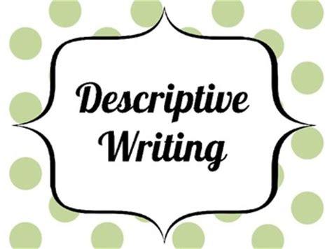 Descriptive Writing Lesson Presentations by NGfLCymru